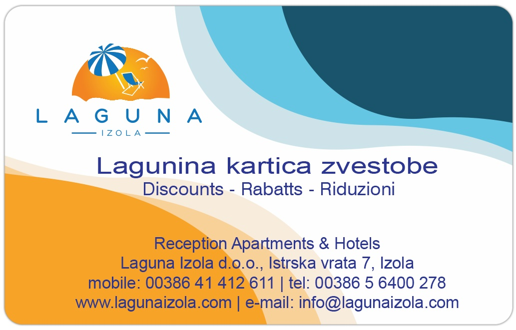 Picture of Laguna card discounts
